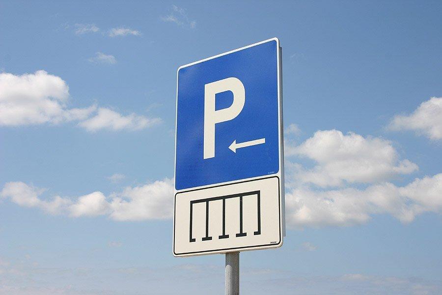 Byggnation av parkeringsskyltar & övriga skyltar